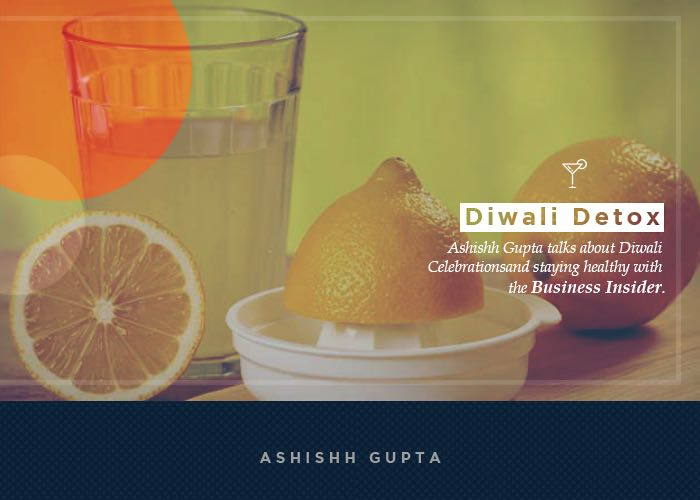 Forget your Diwali gluttony: Detoxify your body with these easy steps