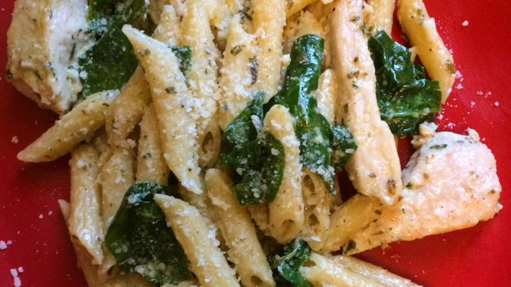 Recipe - Pesto Chicken Florentine