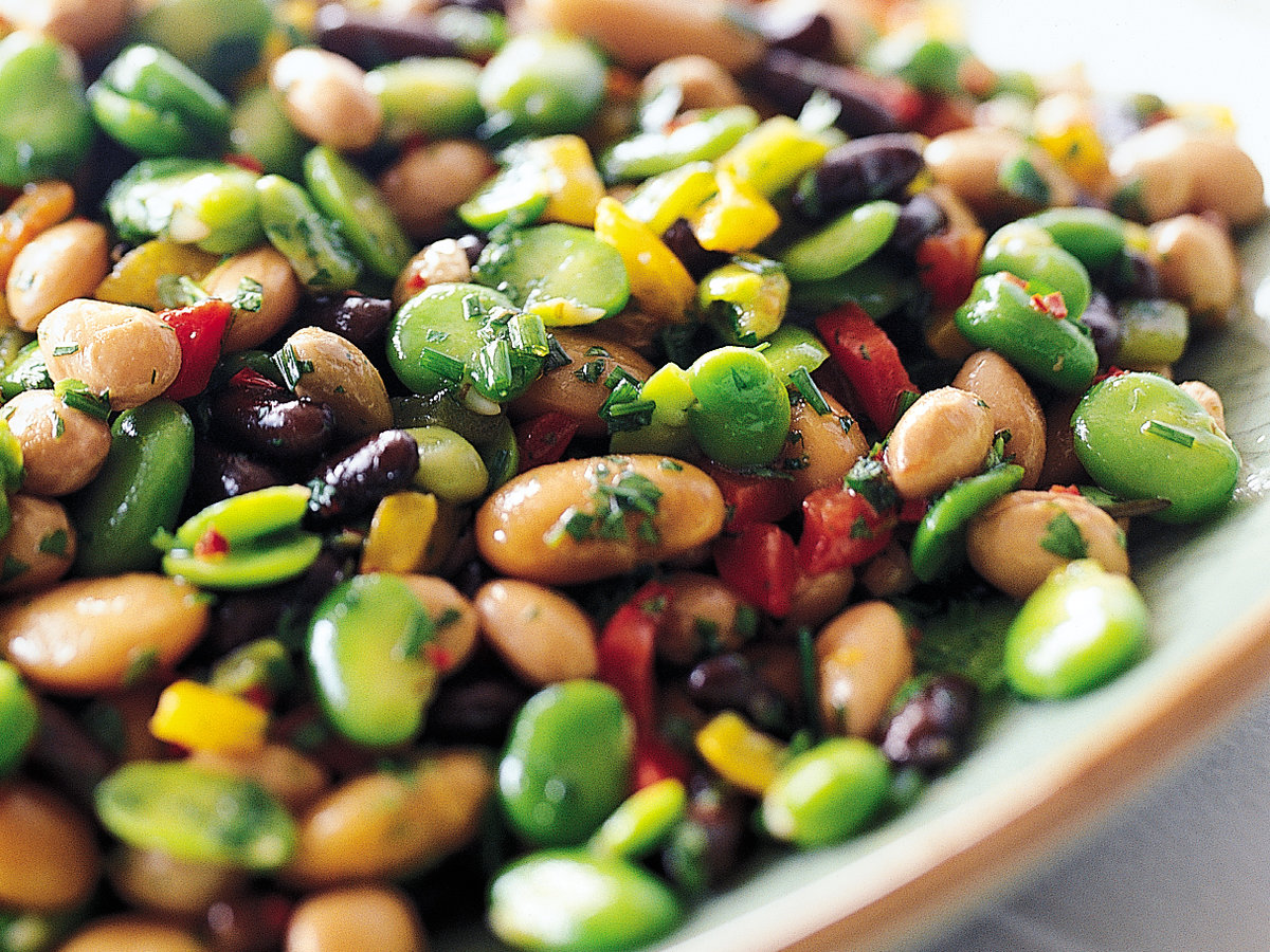 3 And A Half Recipes: Mix Bean Salad