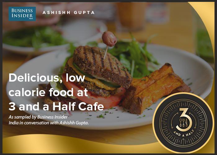 Serving Delicious 200-Calorie Sandwich and Zero Sugar Milk Shakes | Business Insider | Ashishh Gupta