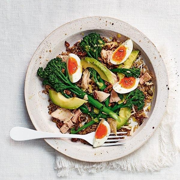 Quinoa, Tuna & Avocado Salad | Ashishh Gupta