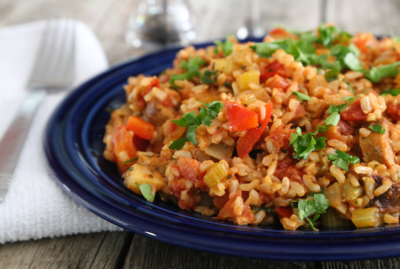 Monday Motivation Recipe - Vegan Jambalaya! | Ashishh Gupta