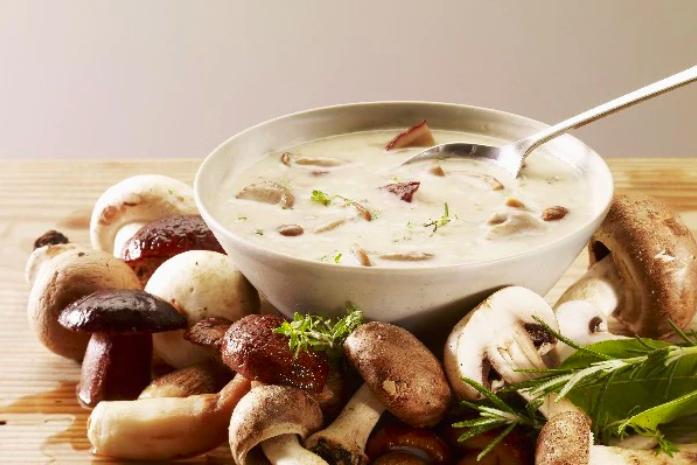 Healthy Mushroom Soup | Ashishh Gupta