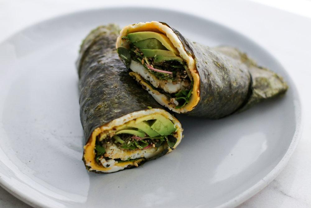 Keto Nori Breakfast Wrap   3 And A Half Recipes!